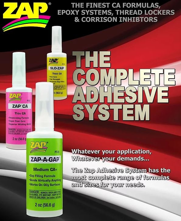 Picture for category ZAP Adhesives